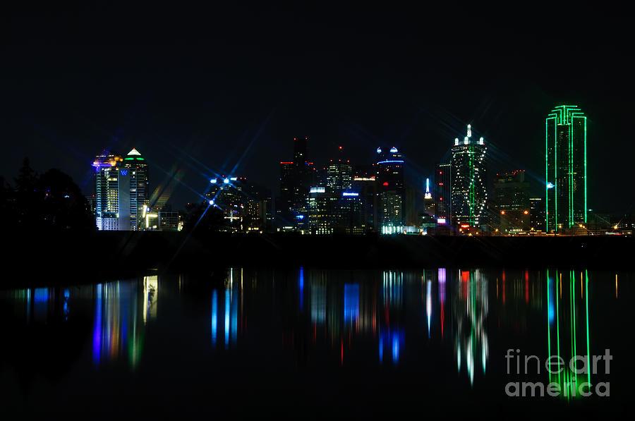 Dallas Photograph - Dallas Reflections by Charles Dobbs