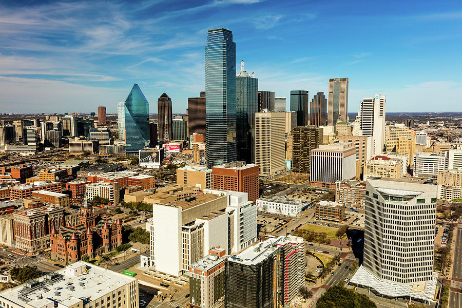 Horizontal Photograph - Dallas Skyline As Seen From Reunion by Panoramic Images