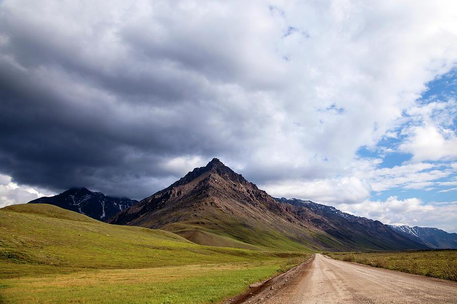 Dalton Highway Through The Brooks Range Photograph by Daniel A. Leifheit