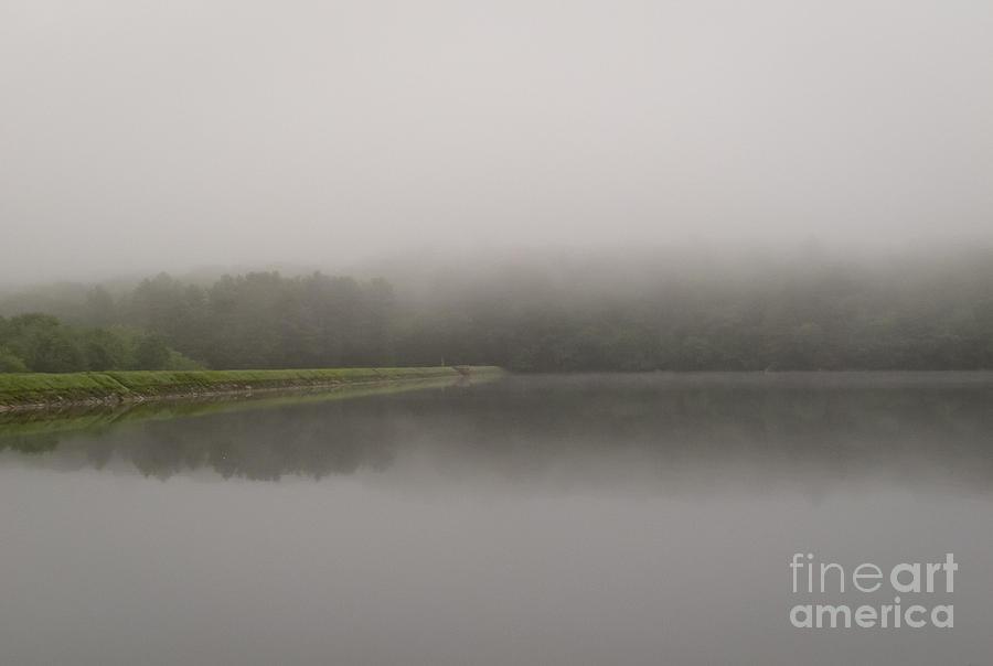 Ashland State Park Photograph - Dam at dawn by Agata Wisniowska