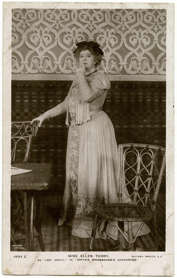 Ellen Photograph - Dame Ellen Alice Terry (1847  1928) by Mary Evans Picture Library