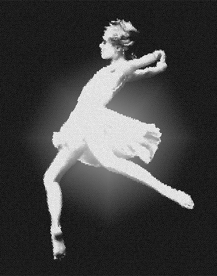 Nick Photograph - Dance - Glass by Nicholas Evans