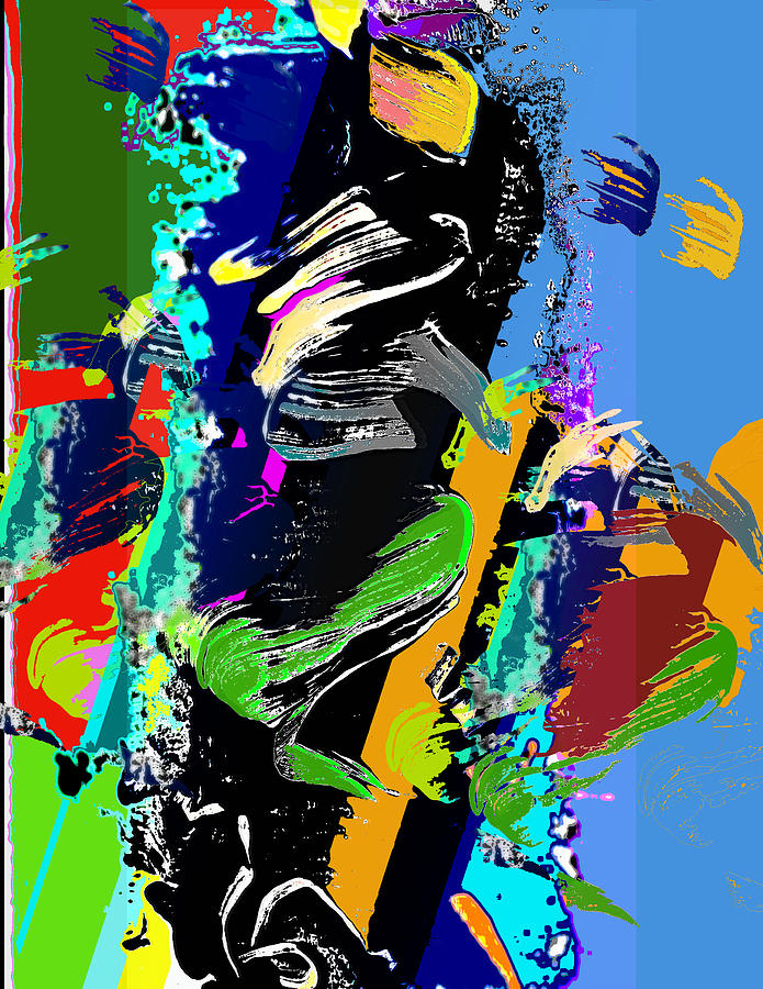 Dance Digital Art - Dance 1 by Jame Hayes