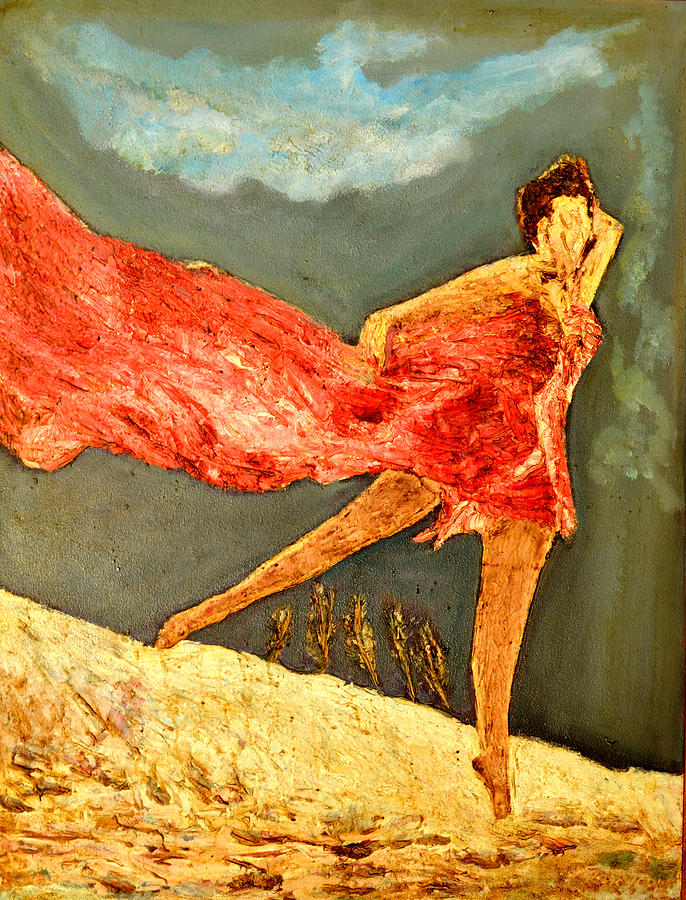 Oil Paintings Painting - Dance Dance Dance by Anand Swaroop Manchiraju