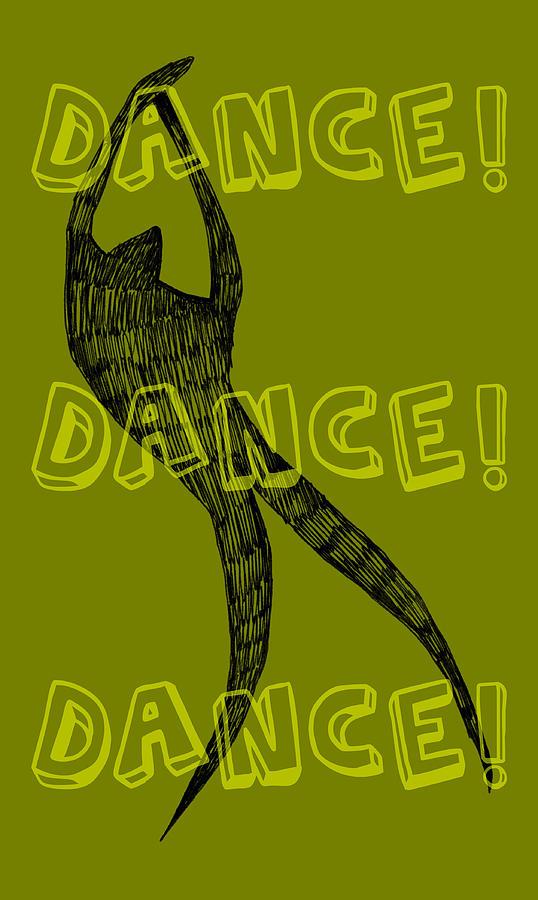 Dance Dance Dance Digital Art by Michelle Calkins