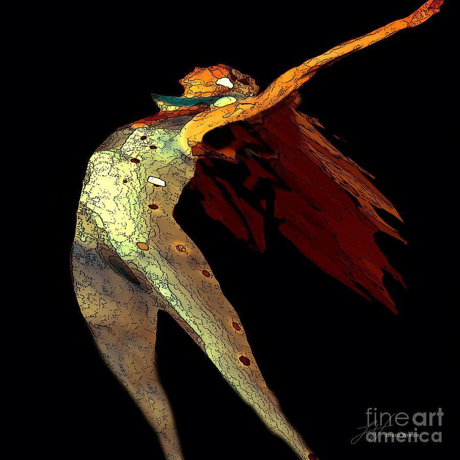 Dancer Painting - Dance Free by Artist and Photographer Laura Wrede