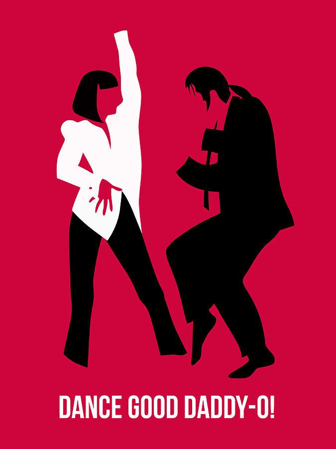 Pulp Fiction Digital Art - Dance Good Poster 2 by Naxart Studio