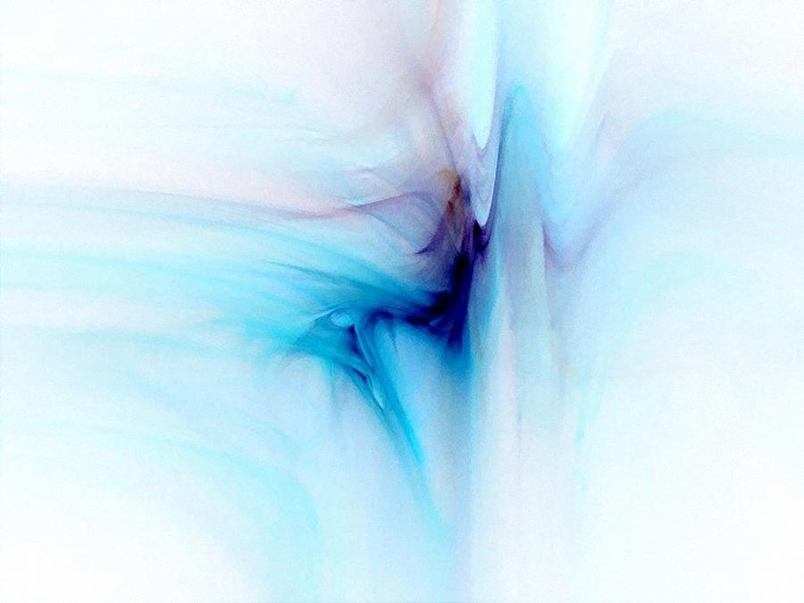 Abstract Digital Art - Dance In The Breeze by Gun Legler