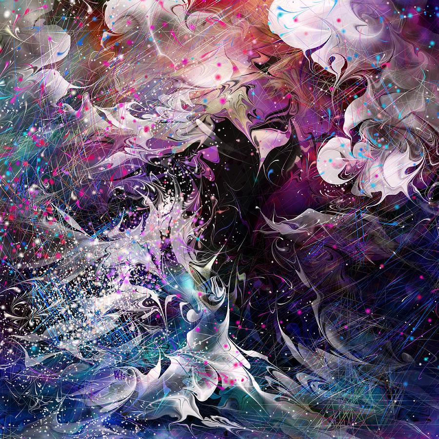 Fantasy Digital Art - Dance In The Seas by Rachel Christine Nowicki