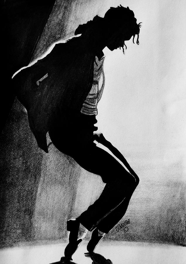 Dance Drawing by Jeremy Moore
