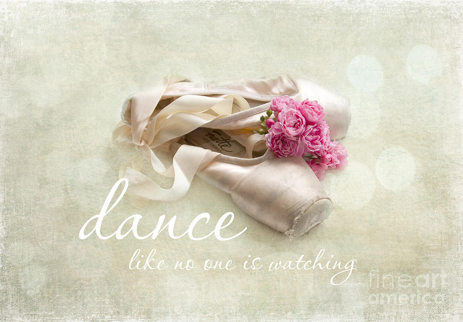 Dance Photograph - Dance Like No One Is Watching by Sylvia Cook