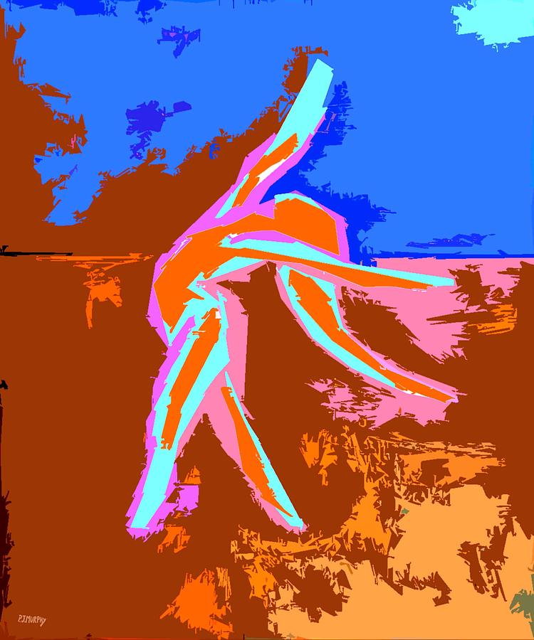 Ballerina Painting - Dance Of Joy 2 by Patrick J Murphy