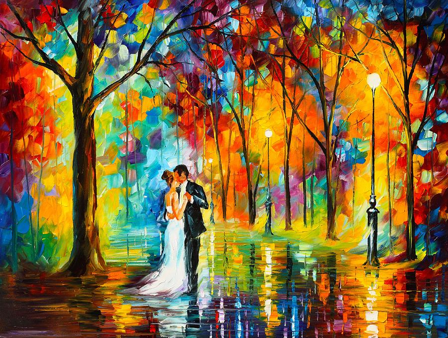 Dance Of Love Painting by Leonid Afremov