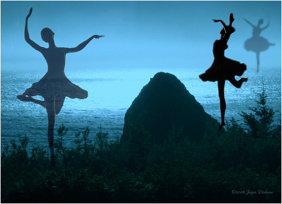Ballerina Photograph - Dance Of The Sea by Joyce Dickens