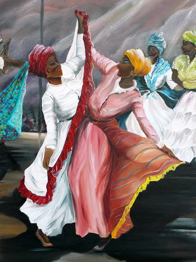 Dance The Pique 2 Painting By Karin Dawn Kelshall Best