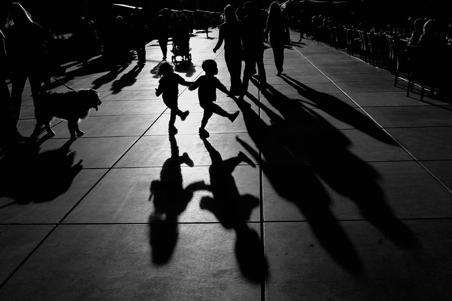 Shadow Photograph - Dance by Vedrana Domazet