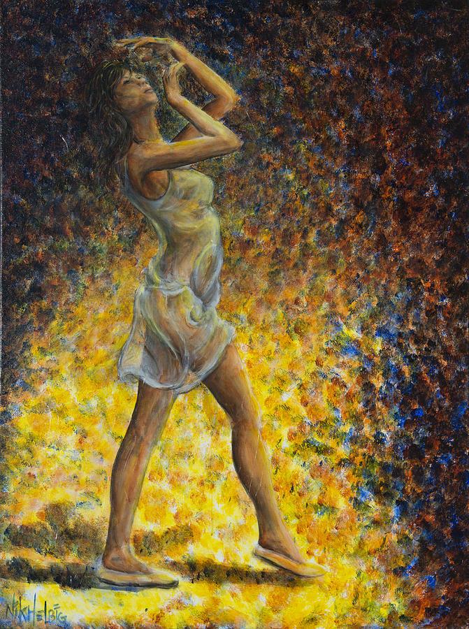 Dancer Painting - Dancer 07 by Nik Helbig