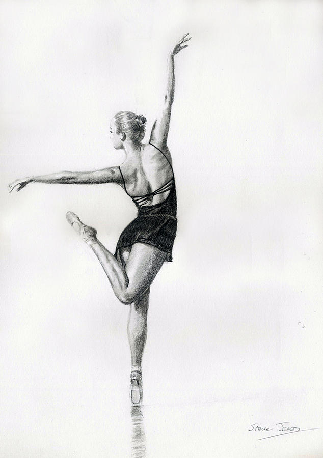 Dancer 5 Drawing By Steve Jones