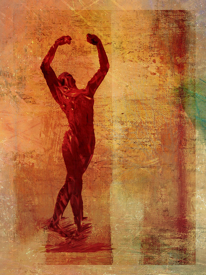 Dancer Digital Art - Dancer by David Ridley