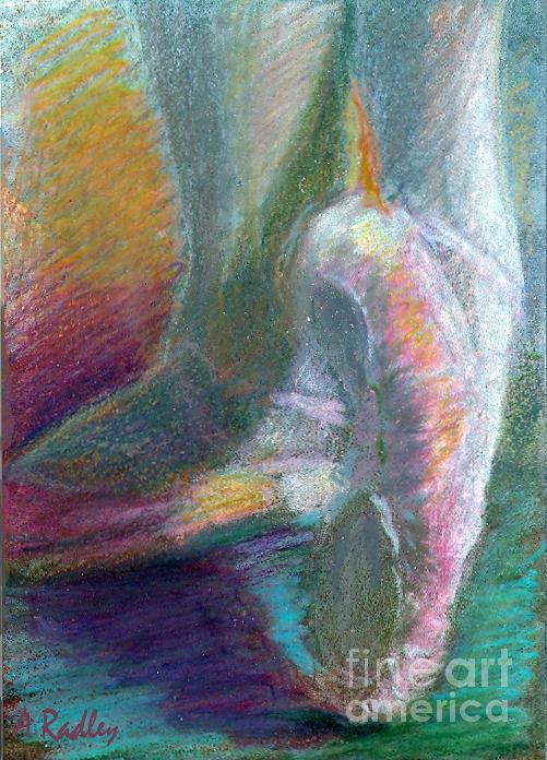 Dance Painting - Dancer In The Doorway by Ann Radley