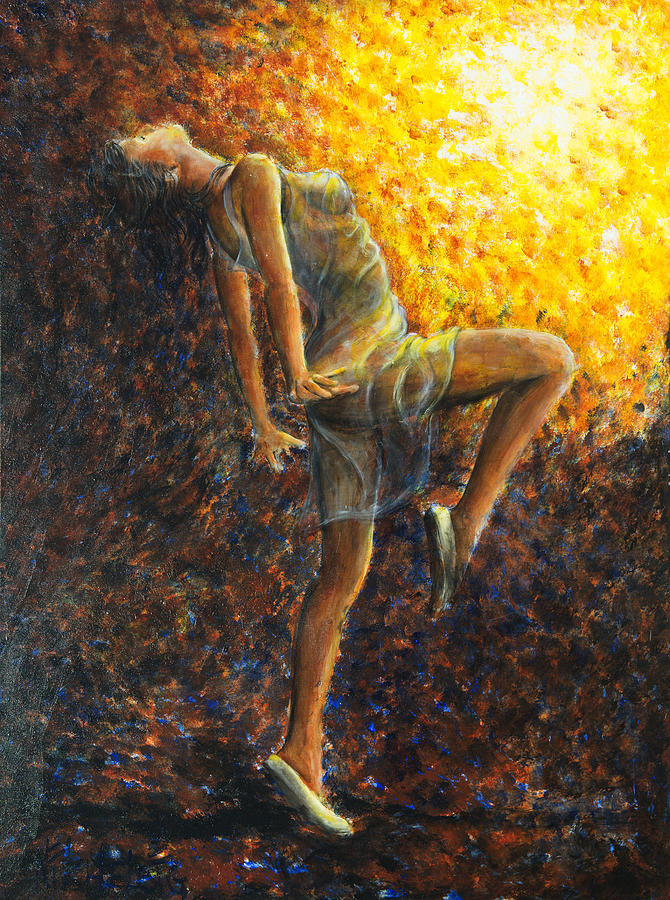 Dancer Painting - Dancer IX by Nik Helbig