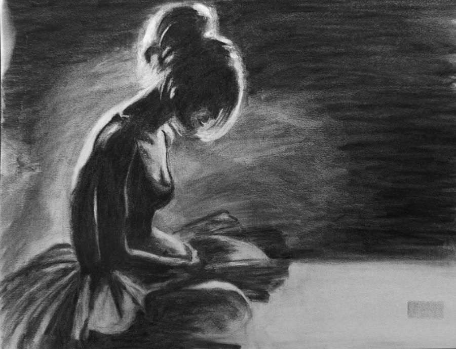 Dancer Drawing By Kira Rubtsova