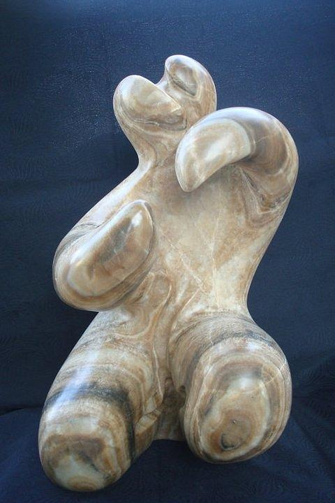 Stone Sculpture - Dancer by Marko Petrovic Njegos