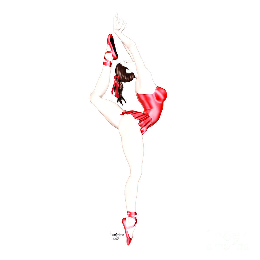 Dancer Painting - Dancer by Renate Janssen