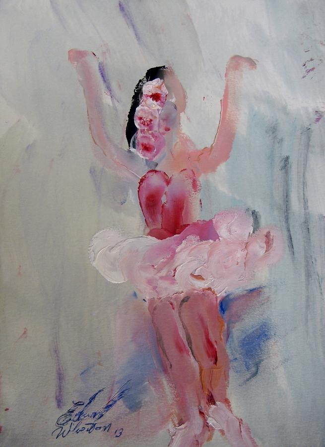 Dance Painting - Dancers 134 by Edward Wolverton