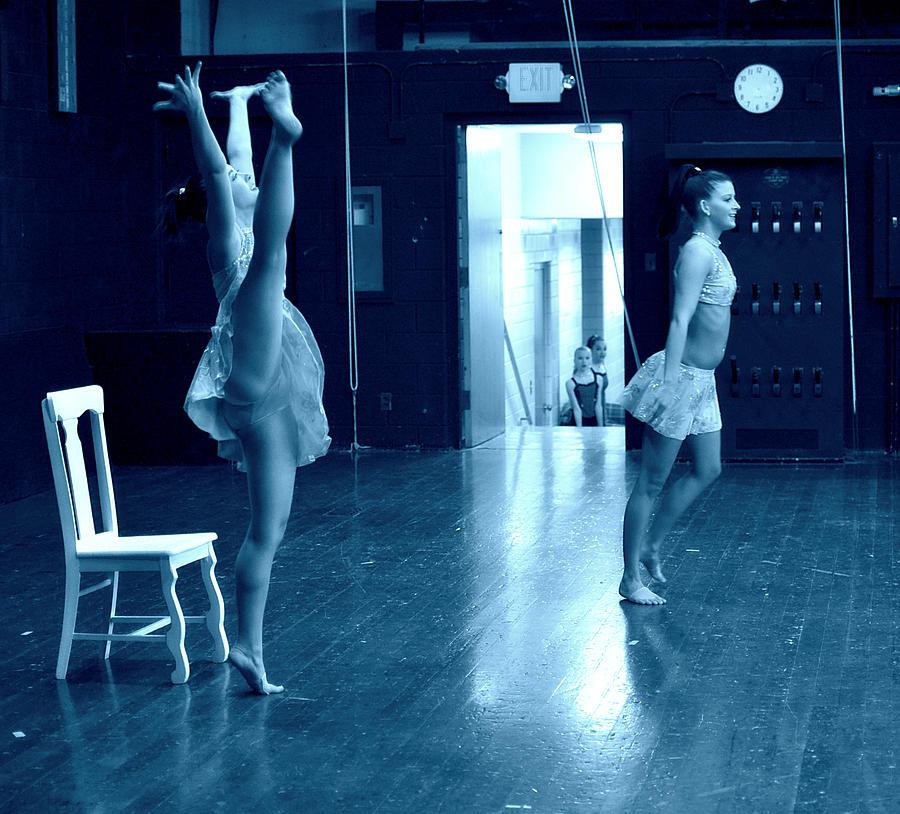 Dancers Photograph - Dancers And Little Watchers by Jon Van Gilder