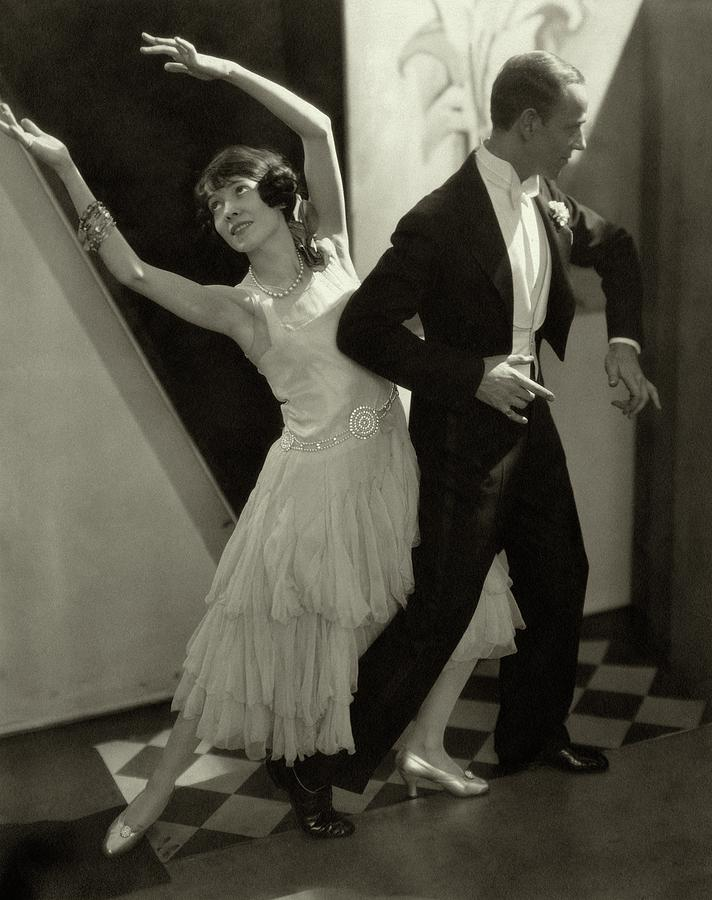 Dancers Fred And Adele Astaire Photograph by Edward Steichen