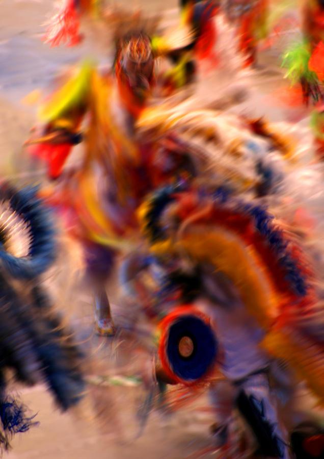 Pow Wow Photograph - Dancers by Joe Kozlowski