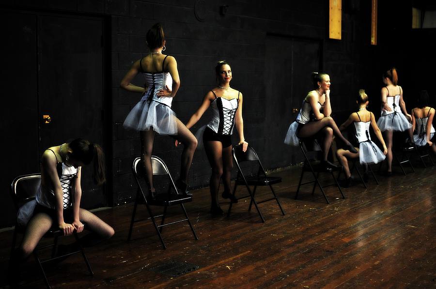 Dance Photograph - Dancers On Stage by Jon Van Gilder