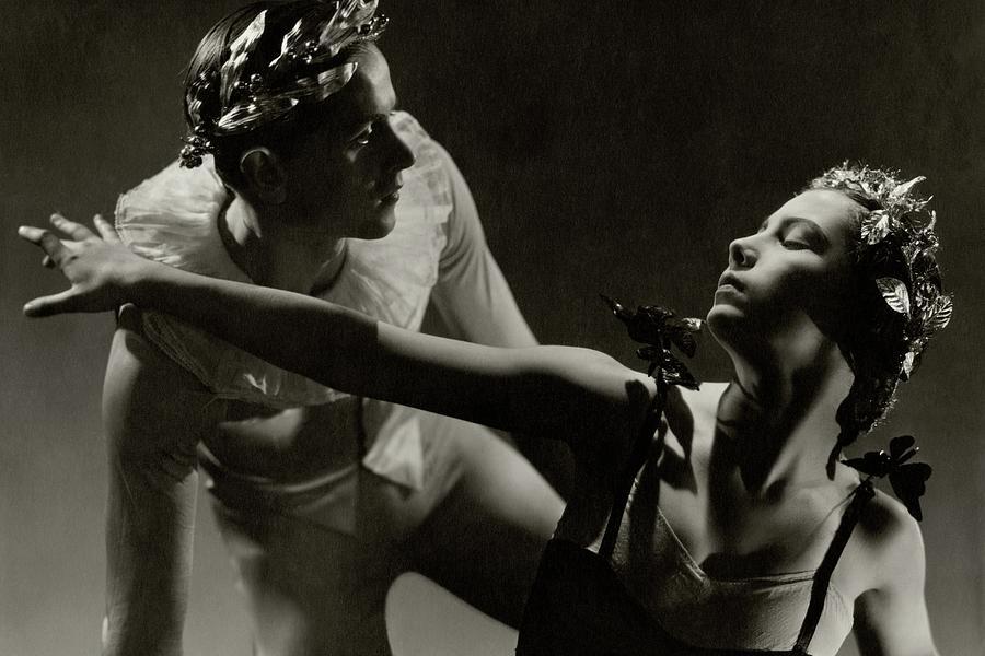 Dancers Tamara Toumanova And Roman Jasinski Photograph by George Hoyningen-Huene