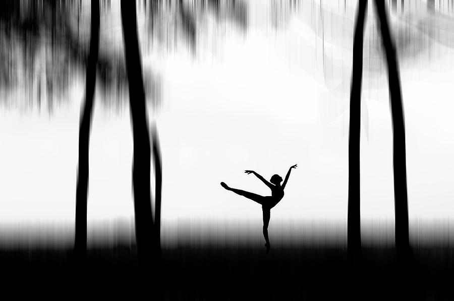 Silhouette Photograph - Dancing by Bocah Bocor