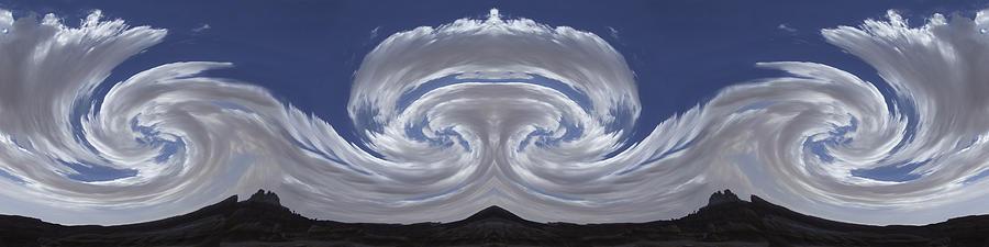 Dancing Clouds 2 Panoramic Photograph