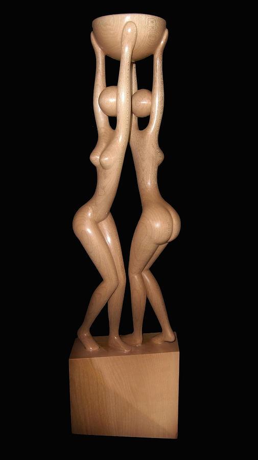 Sculpture Sculpture - Dancing Euridicas by Jakob Wainshtein