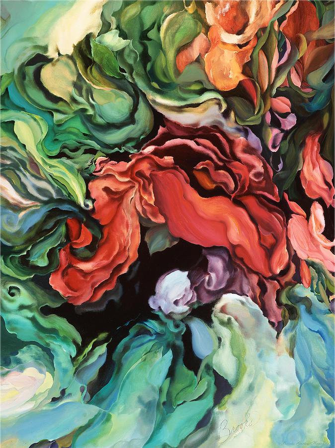 Abstract Painting - Dancing For Joy by Brooks Garten Hauschild