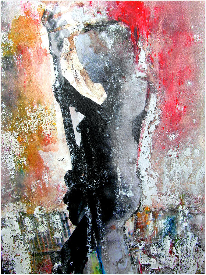 Watercolour Paintings Painting - Dancing In The Moonlight by Bri Buckley