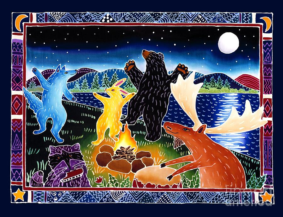Dance Painting - Dancing in the Moonlight by Harriet Peck Taylor