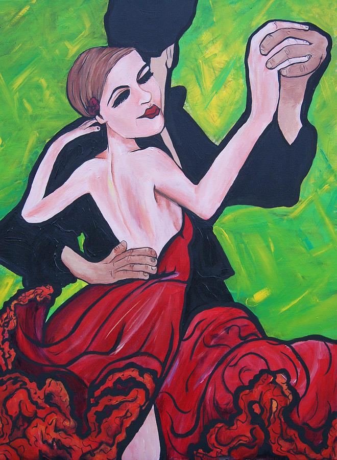 Dancing Painting - Dancing Passion by Lorinda Fore