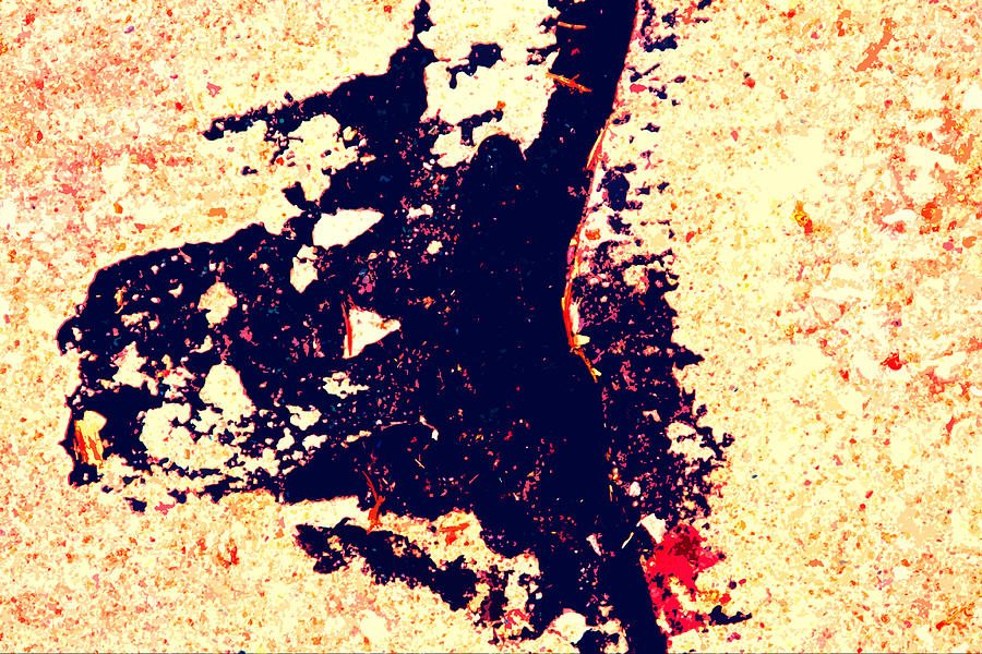Abstract Photograph - Dancing Tar by John Lautermilch