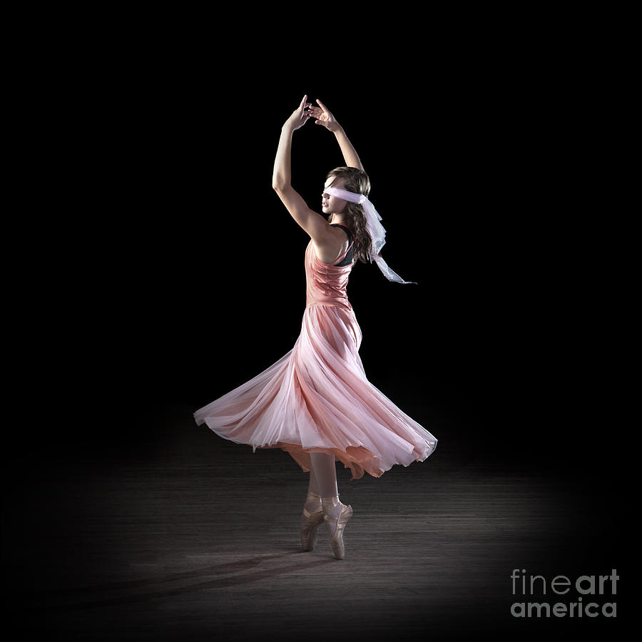 Dancing Photograph - Dancing With Closed Eyes by Cindy Singleton