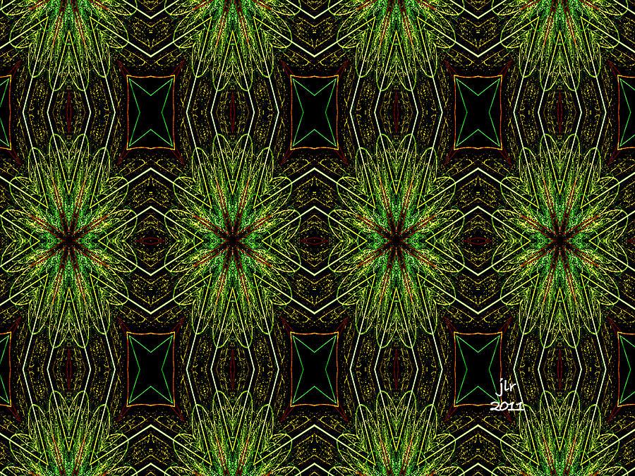 Fractal Digital Art - Dandelion Wine by Janet Russell