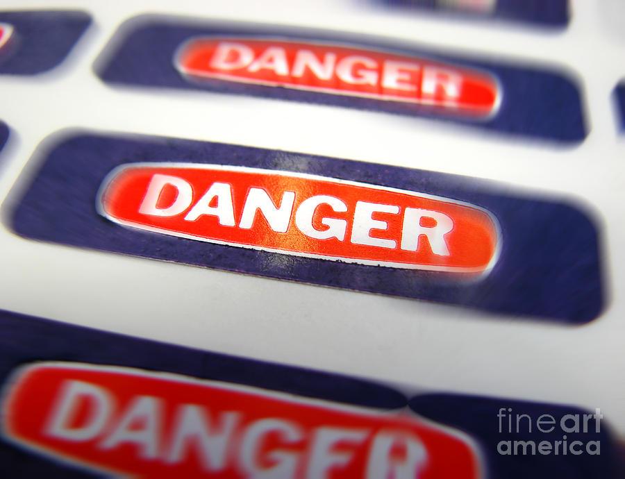 Danger Photograph - Danger by Olivier Le Queinec