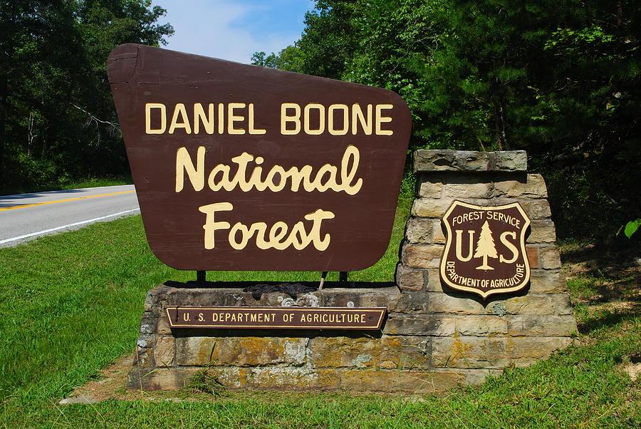 Daniel Boone Photograph - Daniel Boone by Frozen in Time Fine Art Photography