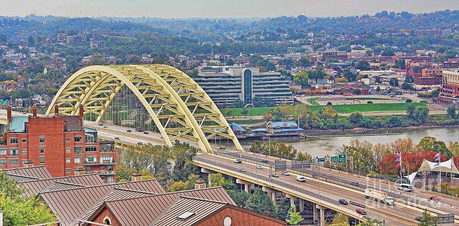 Daniel C Beard Bridge in Cincinati 9955 Photograph by Jack ...