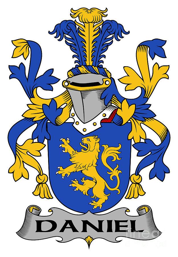 Daniel Digital Art - Daniel Coat of Arms Irish by Heraldry