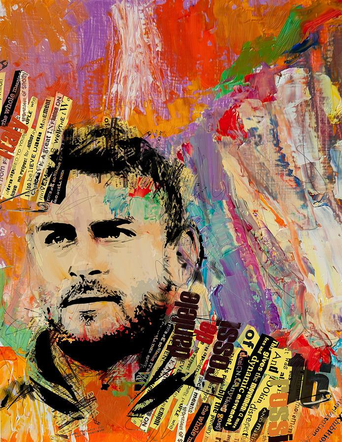 Daniele De Rossi Painting - Daniele De Rossi by Corporate Art Task Force