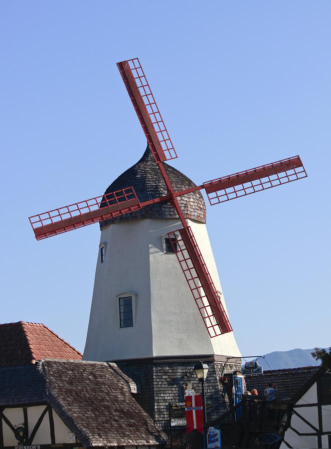 Landscape Photograph - Danish Windmill by Ivete Basso Photography